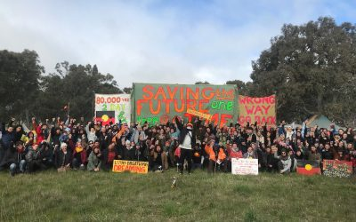Numbers flock to Djab Wurrung Embassy